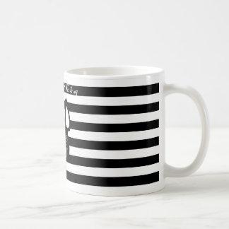 Black & White French Bulldog love mug