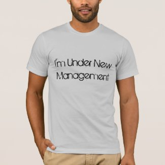 Black White Funny T-shirt for Grooms and Husbands