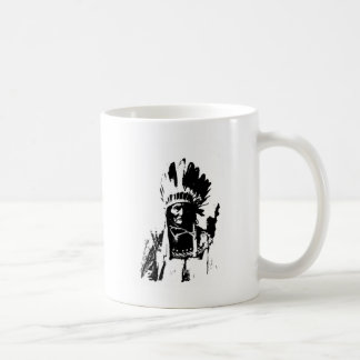 Black & White Geronimo Coffee Mug