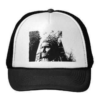 Black & White Geronimo Hats