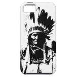 Black & White Geronimo iPhone 5 Case