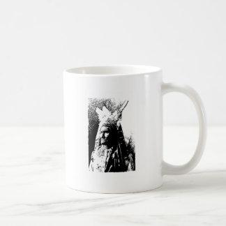 Black & White Geronimo Coffee Mugs