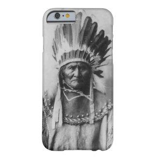 Black White Geronimo Photograph iPhone 6 Case