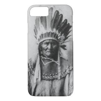 Black White Geronimo Photograph iPhone 7 Case