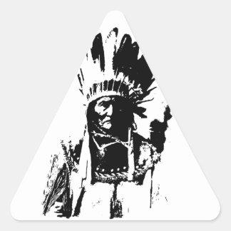 Black & White Geronimo Stickers