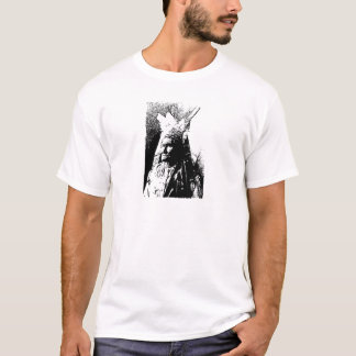 Black & White Geronimo T-Shirt