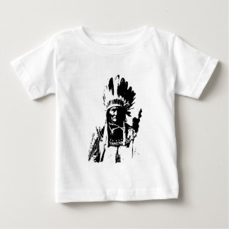 Black & White Geronimo Infant T-shirt