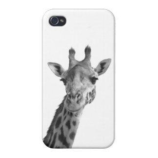 Black White Giraffe Cases For iPhone 4