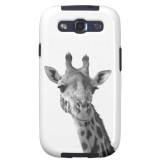 Black & White Giraffe Samsung Galaxy SIII Case