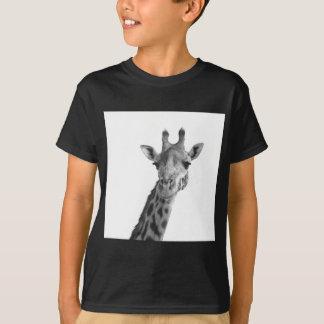 Black & White Giraffe T-Shirt
