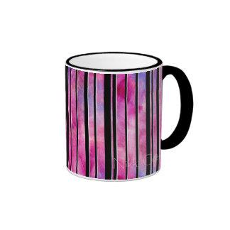 Black & White Girly Lines Mug