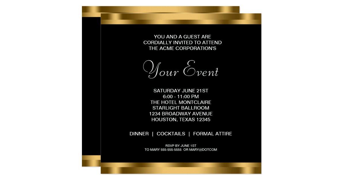 Corporate Invitation Cards Corporate Invitation Card Corporate – Business Invitations Templates