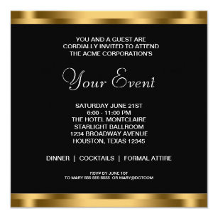 company holiday party invite