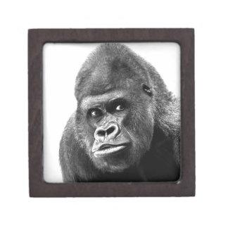 Black White Gorilla Gift Box