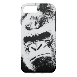 Black & White Gorilla iPhone 8/7 Case