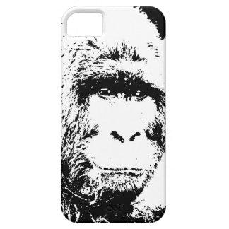 Black & White Gorilla iPhone SE/5/5s Case