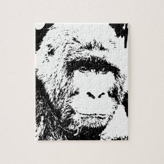 Black & White Gorilla Puzzle