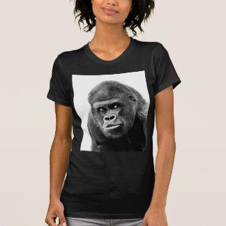 Black White Gorilla T Shirt
