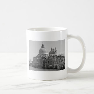 Black White Grand Canal Venice Italy Travel Coffee Mug