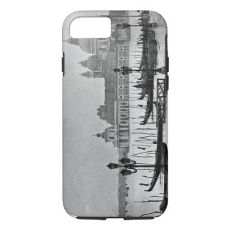 Black White Grand Canal Venice Italy Travel iPhone 8/7 Case