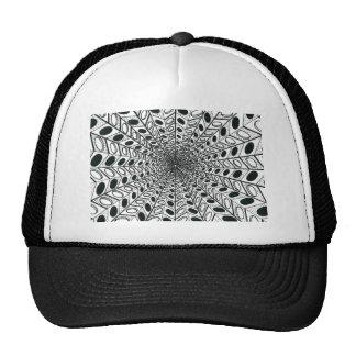 Black & White Graphic Trucker Hat