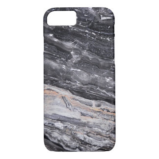 Black White Grey Marble iPhone 7 Case