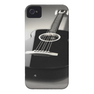 Black & White Guitar iPhone 4 or 4s Cell Phone Cas Case-Mate iPhone 4 Case