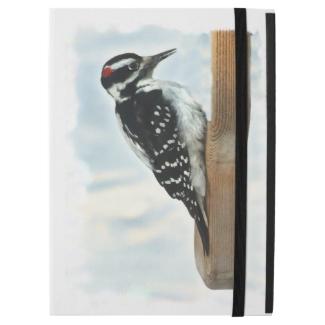 Black White Hairy Woodpecker Bird iPad Pro Case