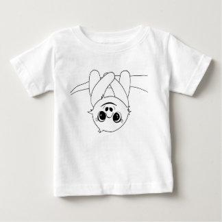Black&white hanging sloth baby T-Shirt