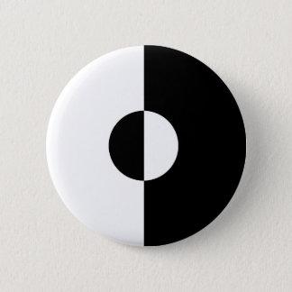 Black & White Harmony Button