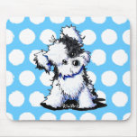 Black & White Havanese Mouse Pads