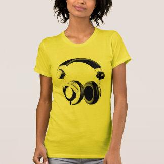 Black & White Headphone Artwork T-Shirt