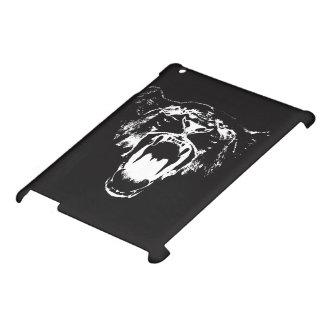 Black & White Hear My Roar! - iPad Case