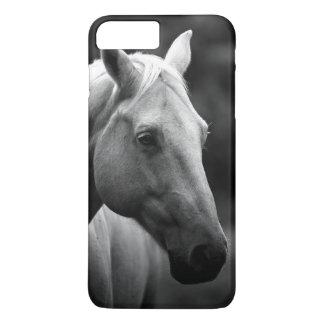 Black White Horse iPhone 7 Plus Case