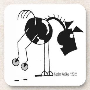 Funny Horse Cartoon Drink & Beverage Coasters   Zazzle on beverage golf cart accessories, beverage golf cart trailer, beverage golf cart babes, beverage golf cart clip art,