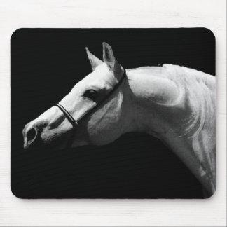 Black & White Horse Mouse Pad