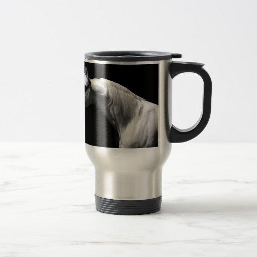 Black & White Horse Mugs