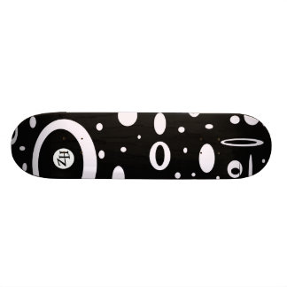 Black & White HotBoard Skateboard