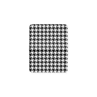 Black & White Houndstooth Pattern Business Card Holder