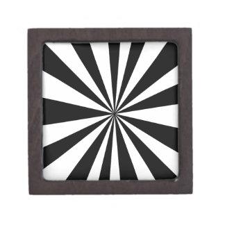 Black White hypnotic Gift Box