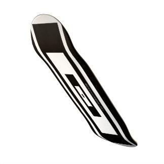 Black, White, Infinity by Grassrootsdesigns4u! Skate Board Decks