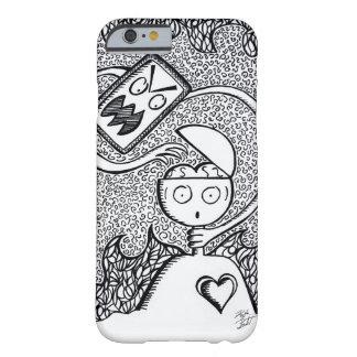 Black White Ink Hand-Drawn Phone Case
