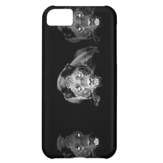 Black & White Jaguar Case For iPhone 5C