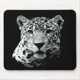 Black & White Jaguar Mouse Pad