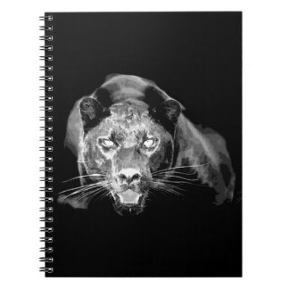 Black & White Jaguar Notebook