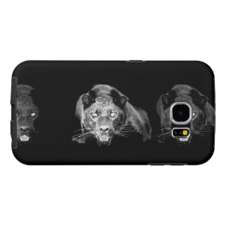 Black & White Jaguar Samsung Galaxy S6 Case