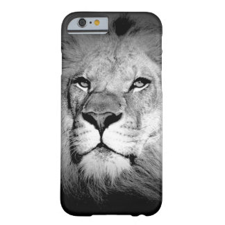 Black & White King Lion Eyes iPhone 6 Case