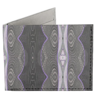 black white lace abstract tyvek wallet