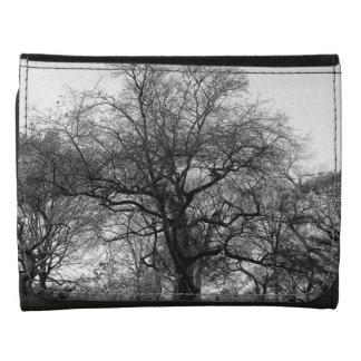 Black White Landscape Photo Wallet