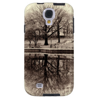 Black & White Landscape Winter Tree - Central Park Galaxy S4 Case